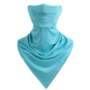 Bicycle Half Face Mask Hood Protection UV Cycling Neck Guard Facemask Headband Running Head Scarf Ice Silk Face Mask-outdoor-betahavit-Blue-betahavit