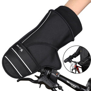Bicycle Handlebar Gloves For Men Windproof Warm Reflective Electric Bike Motorbike Cycling MTB Handle Bar Mittens-outdoor-betahavit-Black-China-betahavit