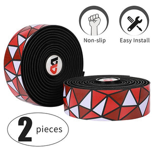 Bicycle Handlebar Tape Anti-slip Shock Absorption EVA PU Road Bike Bent Bar Tape Professional Bicycle Accessories-outdoor-betahavit-045 model B 29-China-betahavit