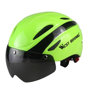 Bicycle Helmet Bicicleta Mountain Riding Helmet Integrally Molded Bike Helmet Cycling EPS Breathable Bicycle Helmets-outdoor-betahavit-green-betahavit