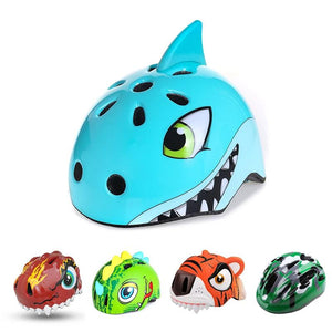 Bike Children Helmets Cartoon 3-8 Years Kids High Density PC Outdoor Sports Safety Skating Cycling Bicycle Helmets-outdoor-betahavit-betahavit