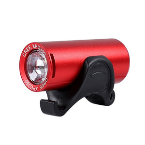 Bike Light Sets Ultralight Front + Rear Lights USB Charging Safety Cycling Lamp Taillight Flash Bicycle Headlight-outdoor-betahavit-203Red-betahavit