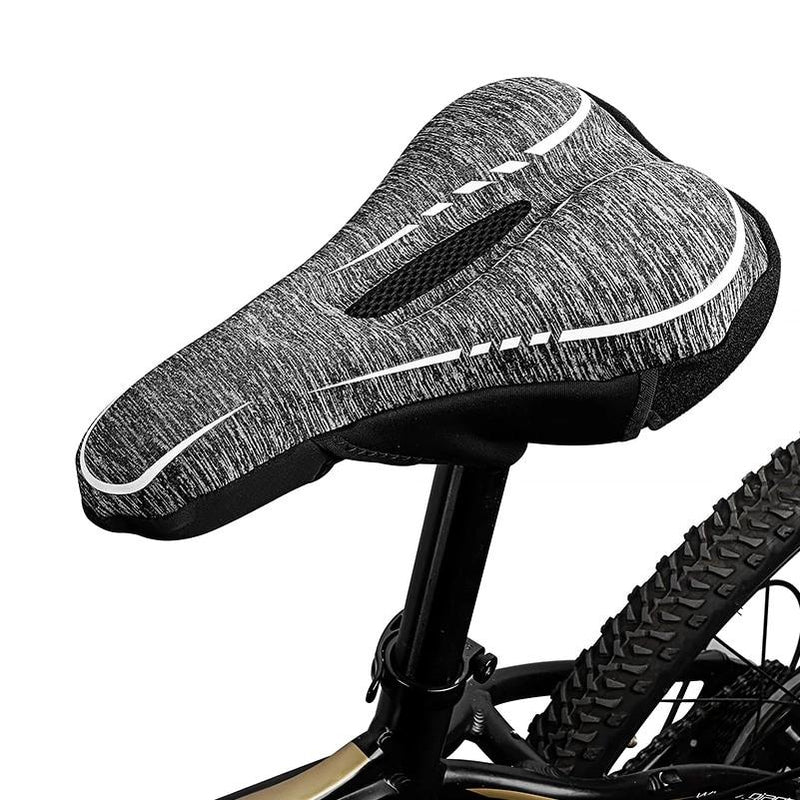Cycling Seat Saddle Cover Mat Pad Bike Pedals Handle Grip Bicycle Wrap Accessory