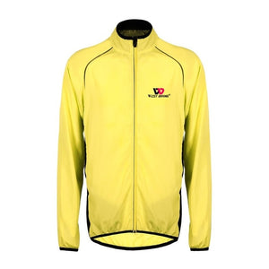 Cycling Jacket Men Women Windproof Bike Jersey Waterproof Long Sleeve Cycle Clothing Outdoor Sport Wind Coat Jacket-outdoor-betahavit-Yellow-XXL-betahavit