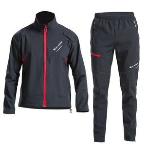Cycling Jersey Set Long Sleeves Sport Suit Bicycle Jacket Trousers Windproof Coat Ciclismo Cycling Jacket-outdoor-betahavit-betahavit