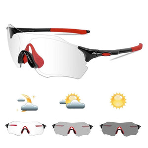 Photochromic Cycling Glasses UV400 Outdoor Sports Women Men MTB Bike Sunglasses Protection Goggles Bicycle Eyewear-outdoor-betahavit-betahavit