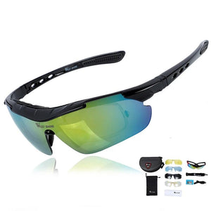 Polarized Cycling Glasses Professional Bicycle Accessories Sun Glasses UV 400 Bike Sunglasses Goggles Eyewear 5 Lens-outdoor-betahavit-betahavit