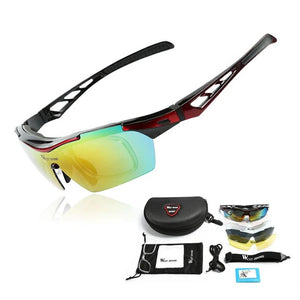 Polarized Cycling Glasses UV Proof Men Women 5 Lens Goggles Myopia Frame MTB Bikes Racing Sunglasses Bicycle Glasses-outdoor-betahavit-betahavit
