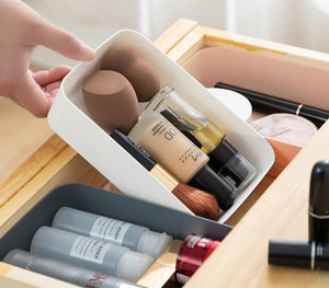 Makeup Organizer Box Plastic Cosmetics Storage Drawers For Tableware Desktop Storage Box Kitchen Storage Organizer-home-betahavit-betahavit