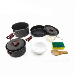 2-3 camping tableware picnic set travel tableware outdoor kitchen cooking set camping cookware hiking utenils cutlery-outdoor-betahavit-China-betahavit
