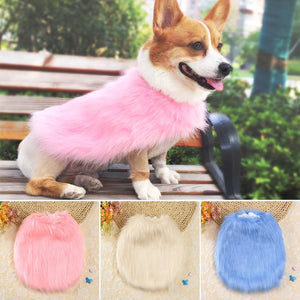 Winter Warm Dog Coat Small Dogs Clothes Jacket Faux Fur Dog Clothes Pet Clothing for Chihuahua Yorkshire French Bulldog-home-betahavit-betahavit