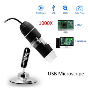 1000X USB Digital Microscope for Android Iphone Mobile Phone 8 LED 3in1 kids Digital Microscope USB Endoscope Zoom Camera-home-betahavit-1000X USB Microscope-betahavit
