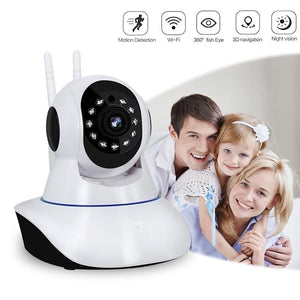 1080P IP Camera Wireless Home Security Camera Surveillance Camera Wifi Night Vision CCTV Camera Baby Monitor Smart Track-home-betahavit-720P with 8GB Card-UK Plug-betahavit