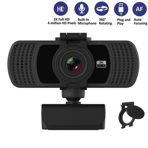 HD 1080P Webcam 2K Computer PC WebCamera with Microphone for Live Broadcast Video Calling Conference Work Camaras Web PC-home-betahavit-betahavit