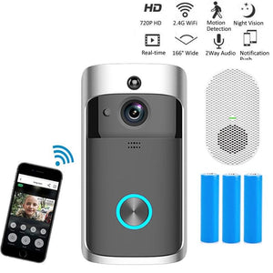 Smart Doorbell Camera Wifi Wireless Call Intercom Video-Eye for Apartments Door Bell Ring for Phone Home Security Cameras-home-betahavit-betahavit