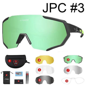Polarized 5 Lens Cycling Glasses Road Bike Cycling Eyewear Cycling Sunglasses MTB Mountain Bicycle Cycling Goggles-outdoor-betahavit-X-YJ-JPC03-5-Spain-betahavit