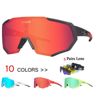 Polarized 5 Lens Cycling Glasses Road Bike Cycling Eyewear Cycling Sunglasses MTB Mountain Bicycle Cycling Goggles-outdoor-betahavit-betahavit