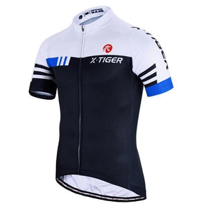 Summer Short Sleeve Pro Cycling Jersey Mountain Bicycle Clothing Maillot Ropa Ciclismo Racing Bike Clothes Jerseys-outdoor-betahavit-Blue-XS-betahavit