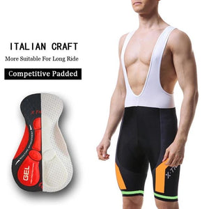 8 Colors Cycling Bib Shorts Summer Coolmax 5D Gel Pad Bike Tights MTB Ropa Ciclismo Moisture Wicking Bicycle Pants-outdoor-betahavit-Colors 01 Bib-XS-betahavit