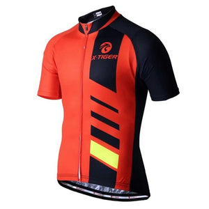 Brand Men's Cycling Jersey Short Sleeve Bicycle Clothing Quick-Dry Riding Bike Sportswear Cycling Clothes Ropa Ciclismo-outdoor-betahavit-Red-S-betahavit