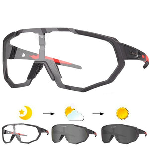 Photochromic Polarized Cycling Glasses Outdoor Sports MTB Bicycle Bike Sunglasses Goggles Bike Eyewear Myopia Frame-outdoor-betahavit-betahavit