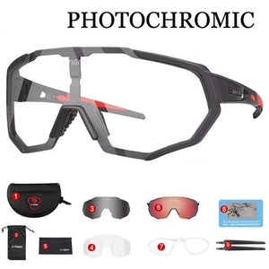 Photochromic Polarized Cycling Glasses Sport Eyewear Bicycle Glass MTB Bike Bicycle Riding Fishing Cycling Sunglasses-outdoor-betahavit-X-YJ-JPC02-3P-betahavit