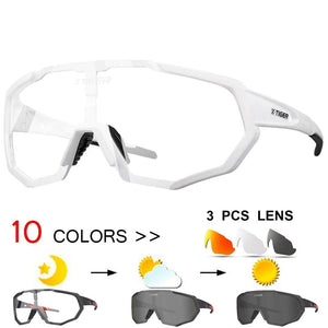 Photochromic Polarized Cycling Glasses Sport Eyewear Bicycle Glass MTB Bike Bicycle Riding Fishing Cycling Sunglasses-outdoor-betahavit-betahavit