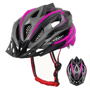 Woman Cycling Helmet Integrally-mold Cycling Mountain Bicycle Helmet Ultralight Bike Helmet EPS+PC Cover MTB Bike Helmet-outdoor-betahavit-betahavit
