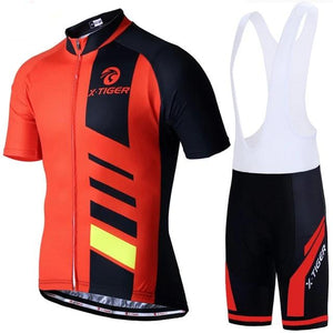 100% Polyester Cycling Jerseys Set Pro Summer Cycling Set Bicycle Clothing Quick-Dry Bike Wear Maillot Ropa Ciclismo-outdoor-betahavit-Jersey and Bib Pant-3XL-betahavit