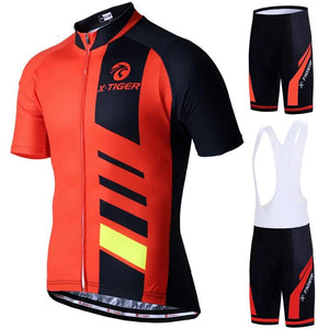 100% Polyester Cycling Jerseys Set Pro Summer Cycling Set Bicycle Clothing Quick-Dry Bike Wear Maillot Ropa Ciclismo-outdoor-betahavit-betahavit