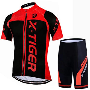 100% Polyester Pro Cycling Jersey Set MTB Bicycle Clothes Sportswear Bike Clothing Maillot Ropa Ciclismo Cycling Set-outdoor-betahavit-Normal Cycling set 350852-S-betahavit