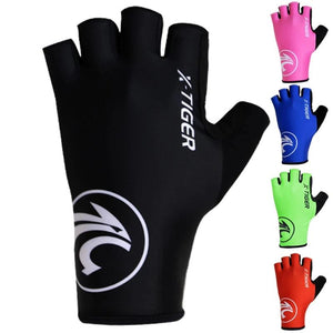 Breaking Wind Cycling Gloves Half Finger Anti-slip Bicycle Mittens Racing Road Bike Glove MTB Biciclet Guantes Ciclismo-outdoor-betahavit-betahavit