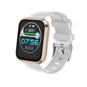 IP67 Waterproof Smartwatch Bluetooth Smart Bracelet Heart Rate Fitness Monitor Blood Pressure Wristband For Andriod IOS-outdoor-betahavit-Gold-betahavit