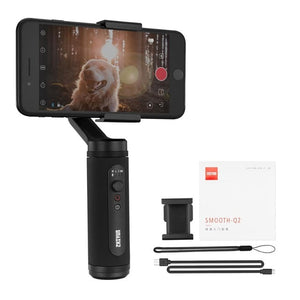 SMOOTH Q2 Phone Gimbal 3-Axis Pocket-Size Handheld Stabilizer for Smartphone iPhone Samsung HUAWEI Xiaomi Vlog-electronic-betahavit-China-SMOOTH Q2-betahavit