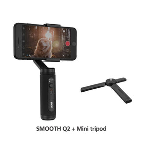 SMOOTH Q2 Phone Gimbals Pocket-Size Smartphones Handheld Stabilizer for iPhone 11/Samsung/Xiaomi/Huawei VS Osmo-electronic-betahavit-China-SM Q2-tripod-betahavit