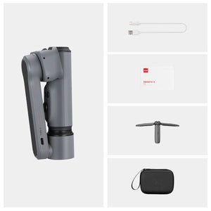 SMOOTH X Selfie Stick Phone Handheld Gimbals Stabilizer Palo Smartphones for iPhone Huawei Xiaomi Redmi Samsung-electronic-betahavit-China-Grey Combo-betahavit