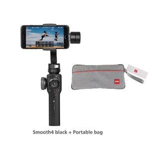 Smooth 4 Phone Gimbals 3-Axis Handheld Stabilizers for Smartphone iPhone/HUAWEI/Samsung/Action Camera Gimbal-electronic-betahavit-China-Smooth4 black-bag-betahavit