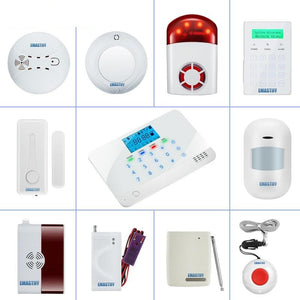 Complete security accessories for the home family security GSM WIFI PSTN alarm system NEW Wireless Siren Fire Smoke Gas sensor-home-betahavit-betahavit