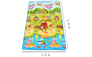 0.5cm Baby Play Double-sided Children Puzzle Pad Crawling Kids Rug Gym Soft Floor Game Carpet Toy Eva Foam Developing Mats-home textile-betahavit-betahavit