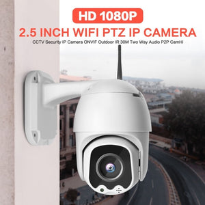 1080P Wireless MINI PTZ IP WIFI Camera Speed Dome 2MP CCTV Security IP Camera ONVIF Outdoor IR 30M Two Way Audio P2P APP CamHi-home-betahavit-betahavit
