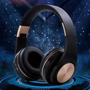 Bluetooth 5.0 Wireless Headphone With HD MIC Headset Support Tf Card Earphone Adjustable Foldable Headphone For Phone-electronic-betahavit-betahavit