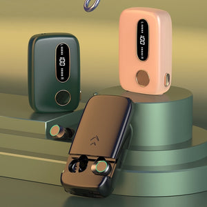 G09 Bluetooth Stereo Earphone Wireless Slide Cover No Delay Earbud Headset 5000mAh Battery Power Bank LED Light Type-c/Micro USB-electronic-betahavit-betahavit