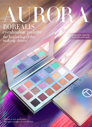 New 18 Colors Eyeshadow Palette Pigmented Powder Easy to Blend Rich Color Aurora Borealis Eye Shadow Makeup-beauty-betahavit-eyeshadow palette-CHINA-betahavit