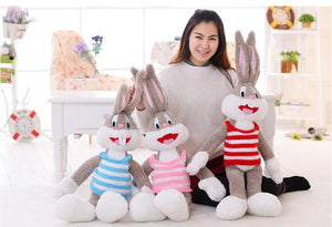 1pc 100cm Cartoon Selling Item Plush Bugs Bunny Stuffed Animal Kawaii Doll For Kids Soft Pillow For Girls Funning Toy-toys-betahavit-betahavit