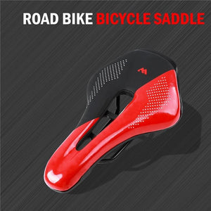 Bike Saddle Wear-resistant Cushion Cycling MTB Road Bike Seat Ergonomic Steel Rails Soft Seat Cushion Bicycle Parts-outdoor-betahavit-betahavit