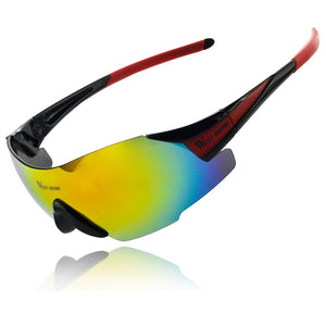Cycling Eyewear UV400 Goggles Windproof MTB Bike Bicicleta Sunglasses 5 Colors Ciclismo Bicycle Cycling Glasses-outdoor-betahavit-Black Red-betahavit