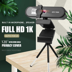 2K 4K Webcam Conference PC Webcam Autofocus USB Web Camera Laptop Desktop for Office Meeting Home With MIC 1080P Full HD Web Cam-home-betahavit-betahavit