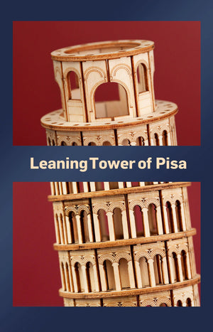 137pcs DIY 3D Leaning Tower of Pisa Wooden Puzzle Game Popular Toy Gift for Children Teen Adult TG304-toys-betahavit-China-betahavit