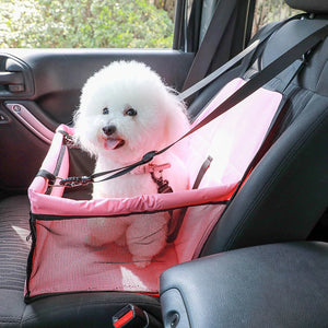 Pet Carriers Car Pet Seat Cover Dog Car Back Seat Carrier Waterproof Pet Mat Hammock Cushion Protector-home-betahavit-betahavit