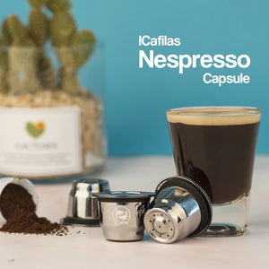 Stainless Steel Refillable Reusable For Nespresso Coffee Capsule Cafeteira Filter for Essenza Mini & Citi-home-betahavit-betahavit